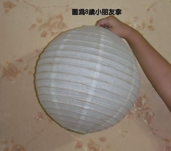 怀旧可彩绘蜡烛灯笼(30公分)