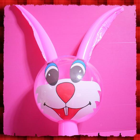 可爱小兔面具图片